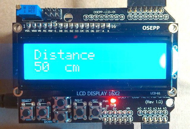 Getting to Grips With The OSEPP LCD Keypad Shield